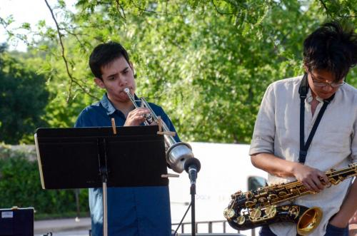 Chris and Richard - Red Note Jazz Combo