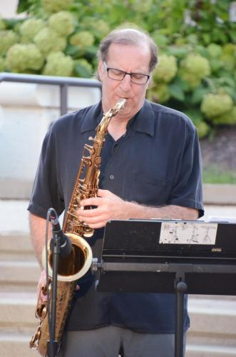 Richard Cohen on sax