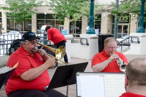 Pre-show, Twin City Brass