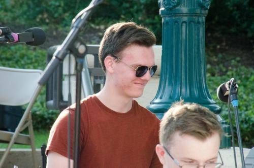 Ben Kreibel - Purdue Summer Jazz band percussionist and Dave Bangert's nephew