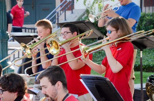 Purdue Summer Jazz Band - Trombones