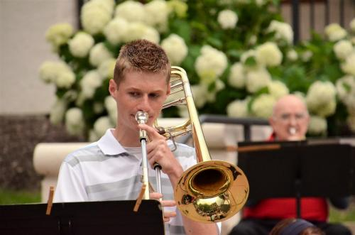 "Lucas Johnson Trombone soloist performs ""Blue Bells of Scotland"""
