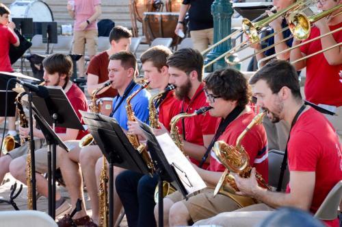 Purdue Summer Jazz Band - Saxophones