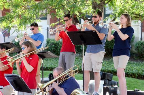 Purdue Summer Jazz Band - Trumpets