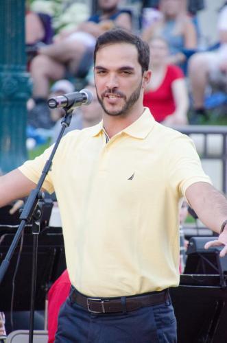 "Marcel Ramalho sings ""The Toreador Song"" from Carmen"