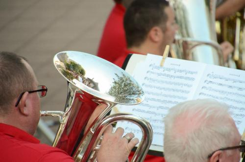 Reflections in the euphonium