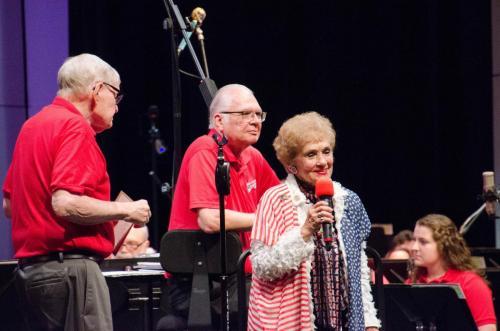 Sheila Klinker presents the Circle of Corydon Award to Bill Kisinger