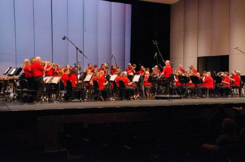 The LCB performs the Stars and Stripes Forever